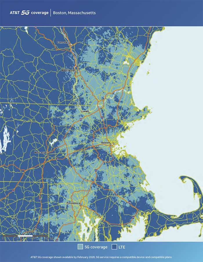 Boston 5G Coverage