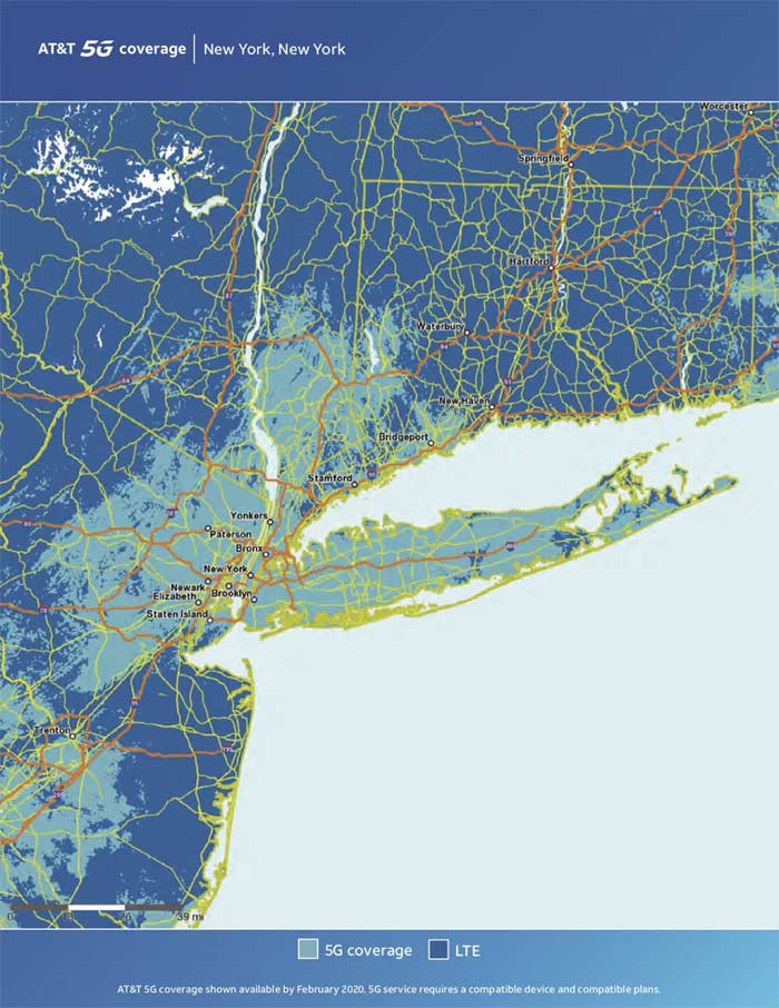 New York City 5G Coverage