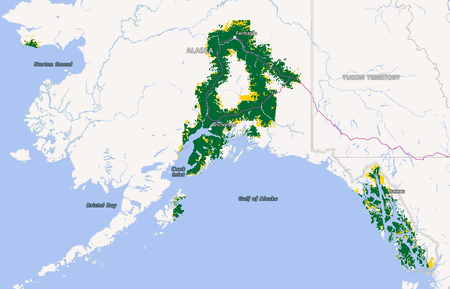 Alaska Coverage Map