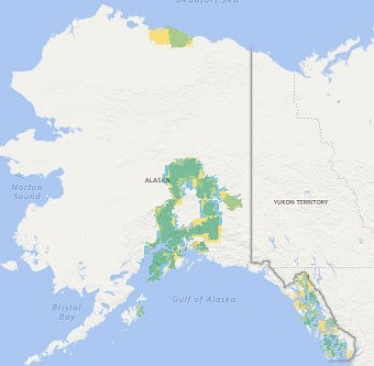 Cellular MapscomCricket Wireless Coverage - Us cellular coverage map alaska