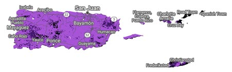 Metro by T-Mobile Puerto Rico Coverage Map