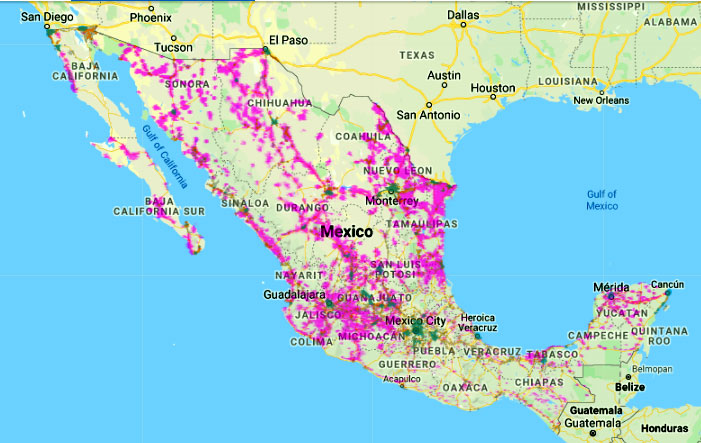 Cellular Maps.com - Mexico Cellular Coverage Maps on aguascalientes mexico, map of california, map of canada, san carlos mexico, oaxaca mexico, map of the united states, map of north carolina, map of the world, map of texas, map of new york, tulum mexico, puebla mexico, jalisco mexico, cities in mexico, guadalajara mexico, leon mexico, manzanillo mexico, map of south america, nayarit mexico, detailed map mexico, map of africa, map of europe, mazatlan mexico, sinaloa mexico, taxco mexico, map of florida, map of china, map of virginia, michoacan mexico, chiapas mexico, map of germany, huatulco mexico, punta mita mexico, map of us, map of georgia, map of italy, queretaro mexico, map of ohio, map of usa,