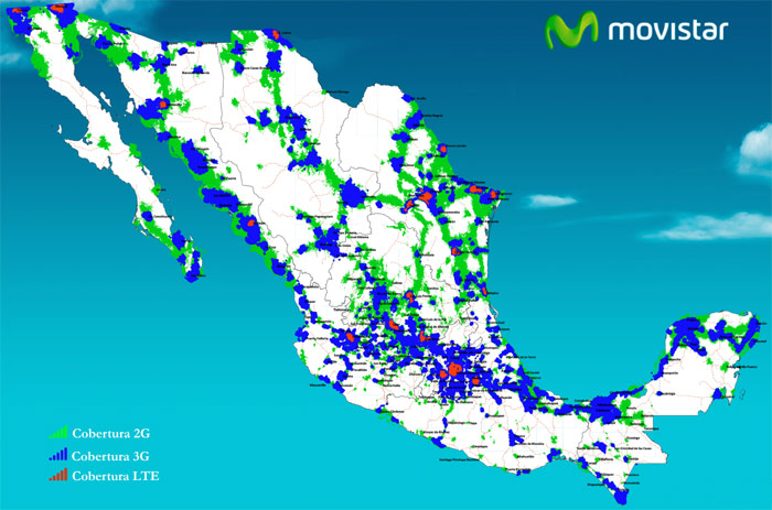 Movistar Coverage
