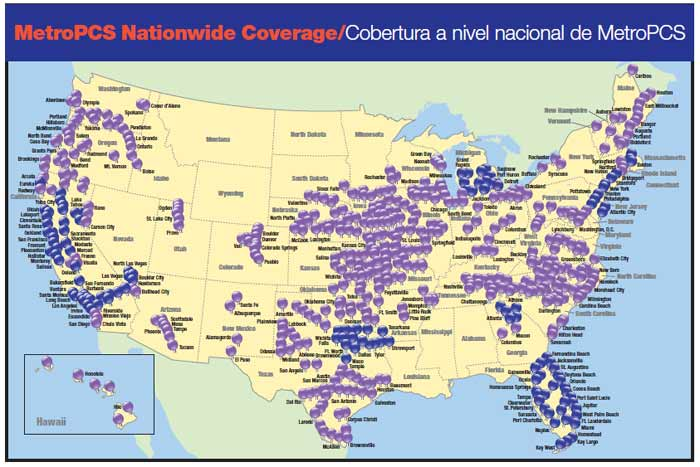 Where Does Verizon Get Off Saying The Thunderbolt Is The First LTE - Metro pcs us coverage map