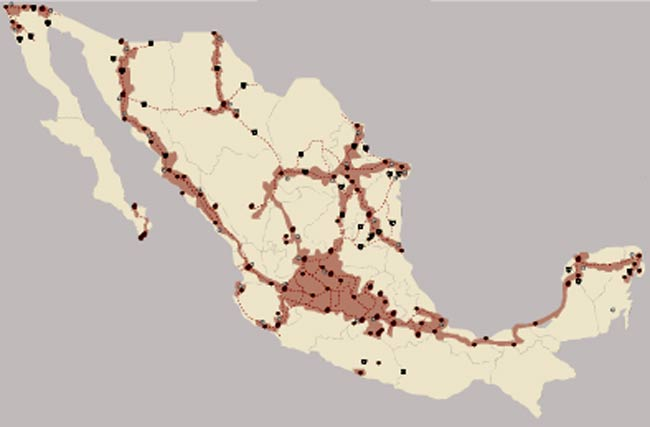 Verizon Wireless Coverage In Mexico Map